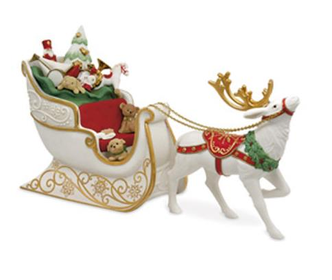 2017 santas sleigh limited edition koc national event hallmark ornament
